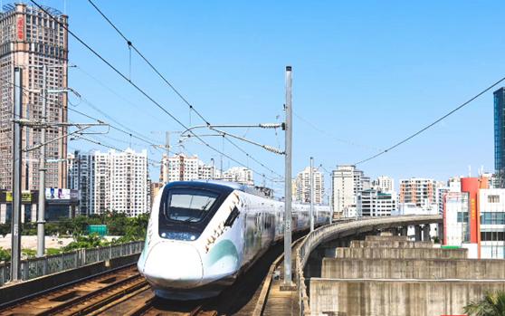 海口市郊列车一周年 运送旅客约113万人次